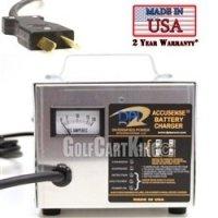 48 volt 17 amp Club Car Golf Cart | 3 Pin Round DPI Charger
