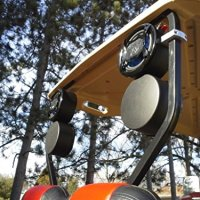 Golf Cart Speakers UTV Radio Stereo Sound Bar