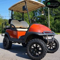 "Club Car Precedent Golf Cart 6"" Lift Kit + 14"" Wheels and 23"" All Terrain Tires (4)"