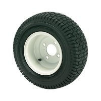 Kenda Golf Cart and Tractor Replacement Tire Assembly - 16 x 6.50-8