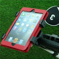 Adjustable 'Quick Fix' Golf Trolley / Cart Tablet Mount for Apple iPad Mini, iPad 2 / 3 / 4th Gen