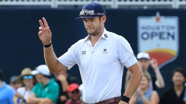 Late birdie propels Lanto Griffin to maiden win at Houston Open