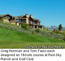 Red Sky Ranch in Wolcott  Colorado is among the nation s top private     Red Sky Ranch and Golf Club   Fazio Course