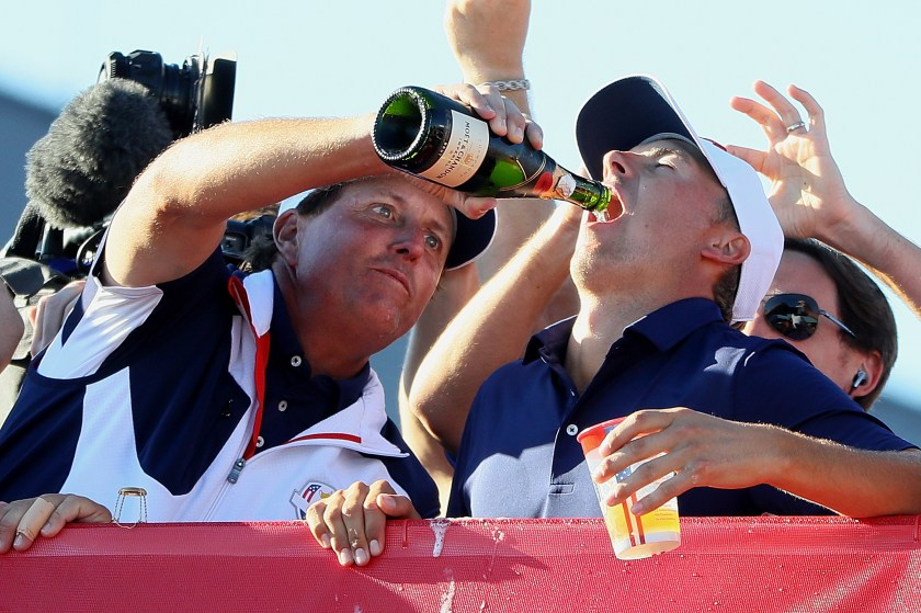 The best images of the Americans celebrating their 2016 Ryder Cup win    This is the Loop   Golf Digest