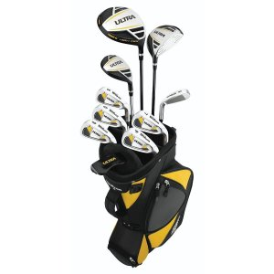 wilson ultra complete best beginner golf clubs