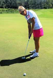 a46eea33d3e There s an embroidered PUMA Cat logo above the left back pocket. The Pounce  Golf Skirt is available in sizes 2 – 18 and in a myriad of bright PUMA ...