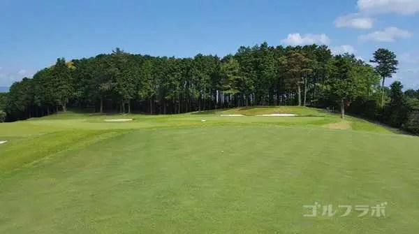 沼津ゴルフクラブの駿河3ホールのグリーン