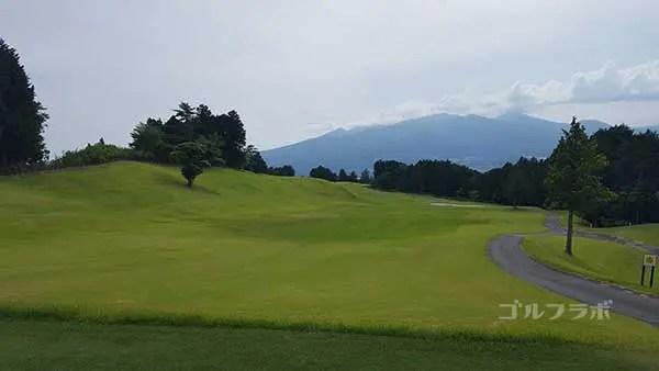 レンブラントゴルフ倶楽部御殿場の駿河コース8番ホールのレディースティ