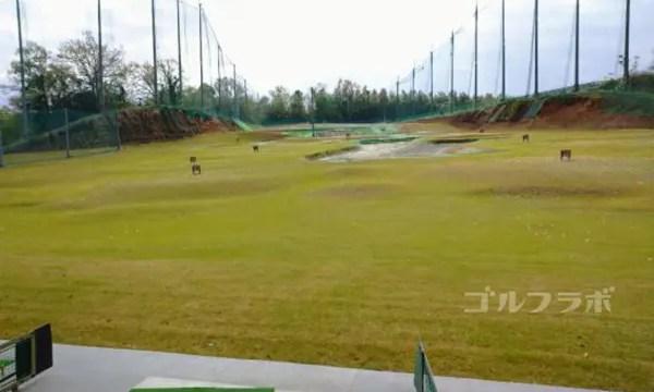 AML磯ヶ谷ゴルフクラブのドライビングレンジ