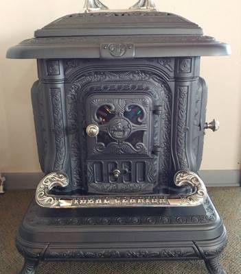 Manufacturer: Oak Heater Mfg. Columbus, OH Circa 1917