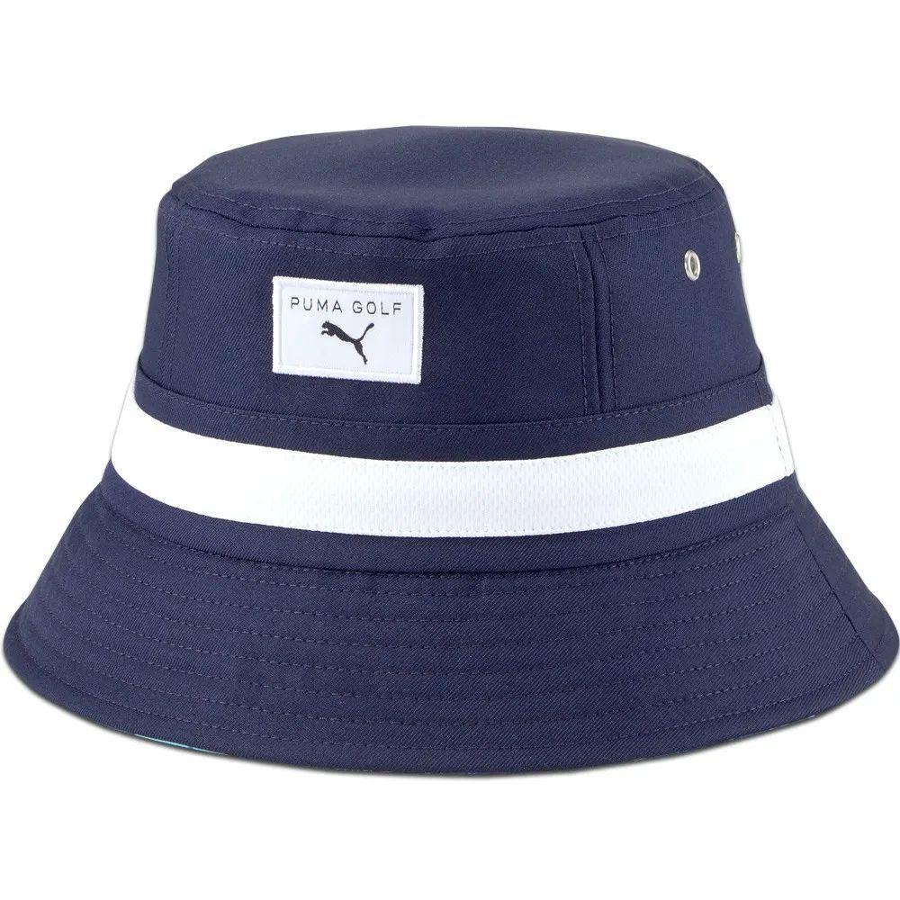 Puma Golf Hat Reversible Williams Bucket Navy Blazer Ss21