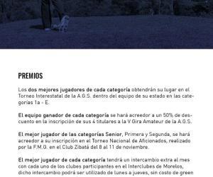 38° Torneo Interclubes de Morelo