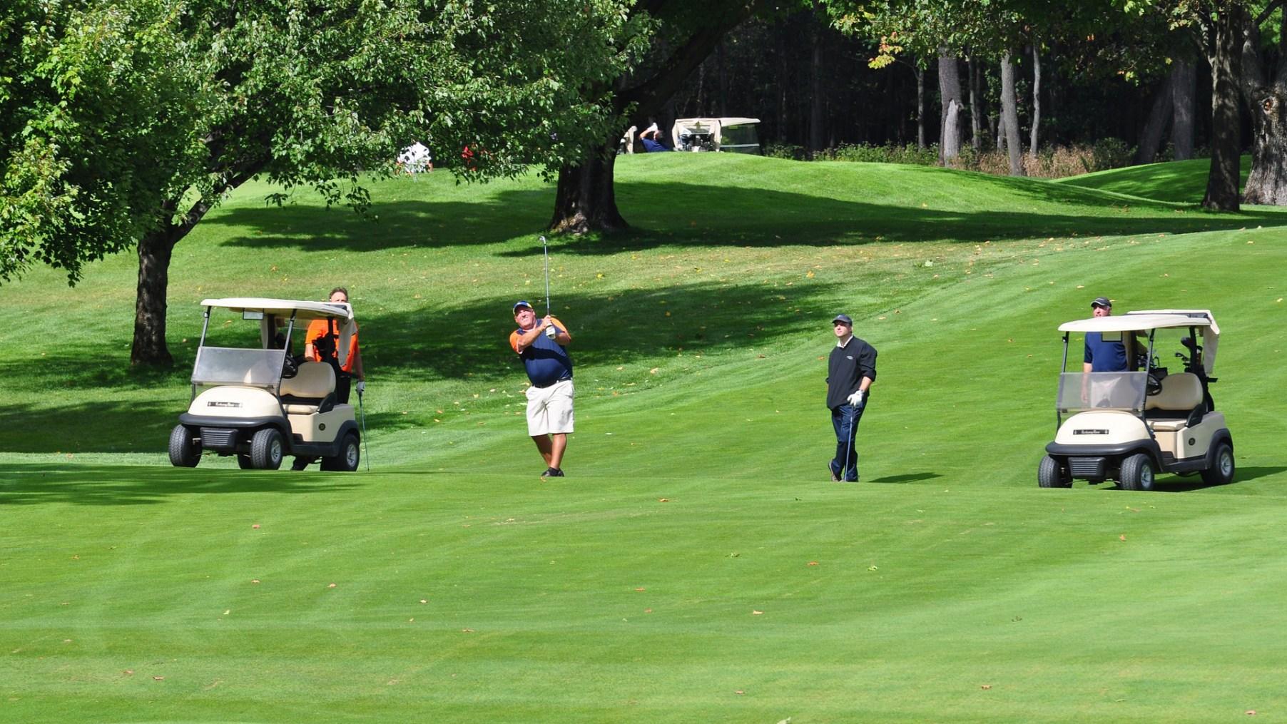 jeu lent golf