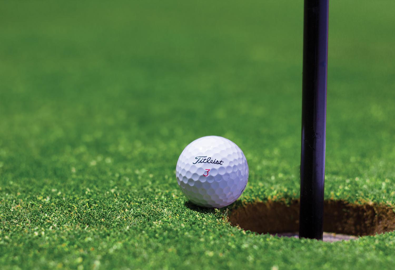 Trou en un golf