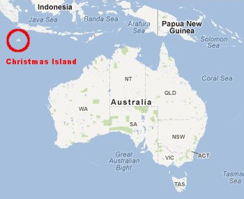 Imagini pentru christmas islands map