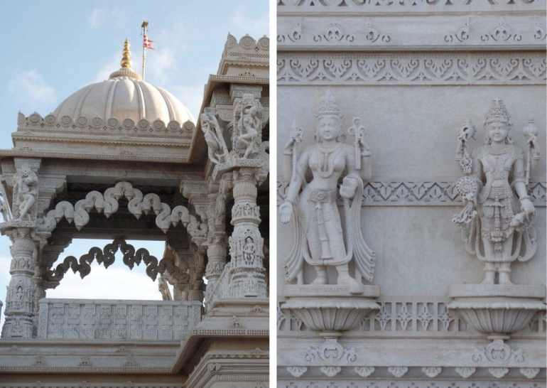 Londen tempel Hindu