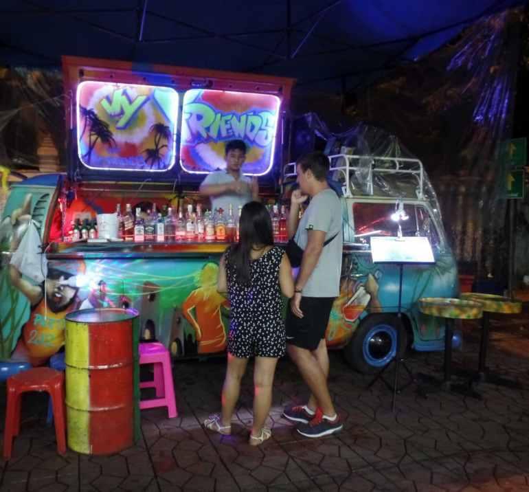 Bangkok night market