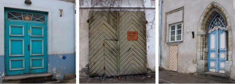 Tallinn doors Estonia