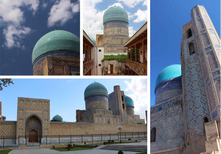 Bibi Khanum moskee samarkand