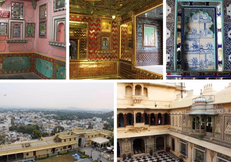 Udaipur India city palace