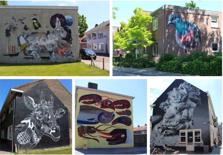 Street art centrum Goes Zeeland