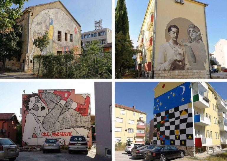 Murals Mostar