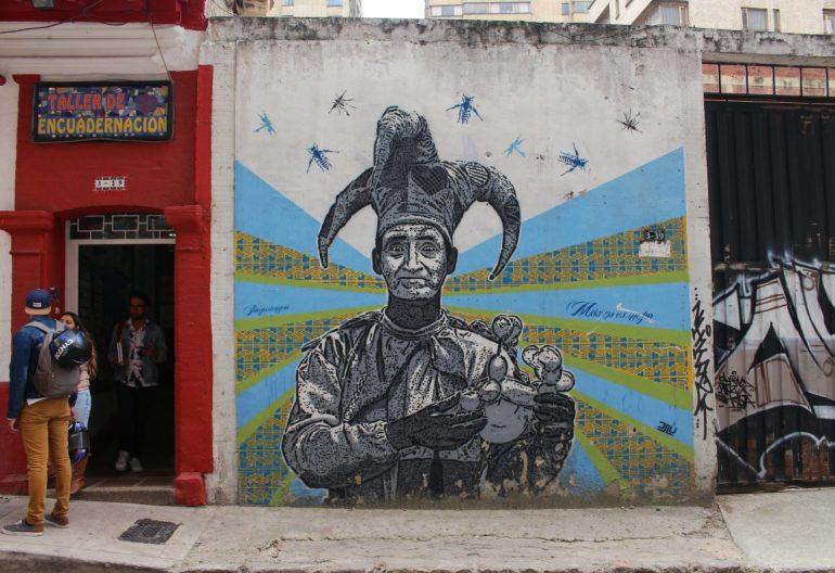 Bogota street art Colombia