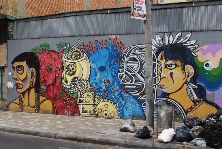 mural Colombia