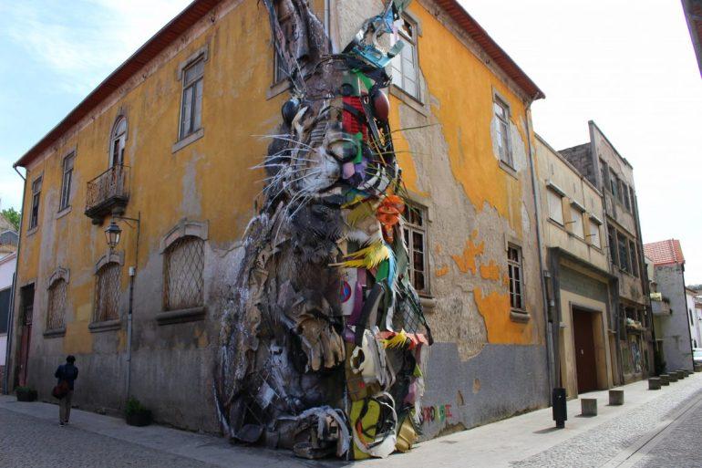 Half Rabbit Porto street art