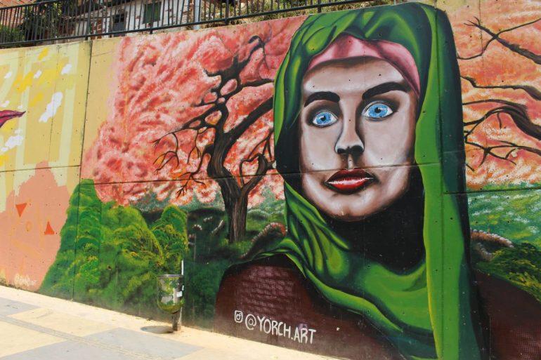 Wallpainting Comuna 13