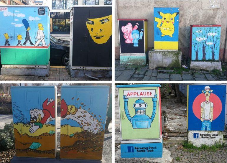 Elektriciteitskastjes Tirana