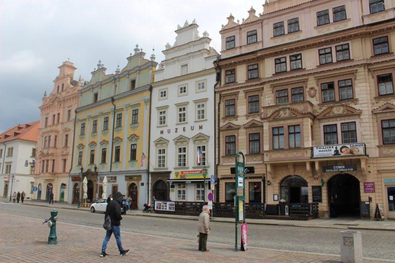 Plzen Tsjechie plein wereldreis