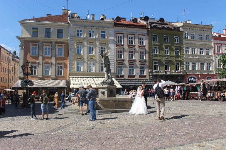 Brides in Lviv Ukraine