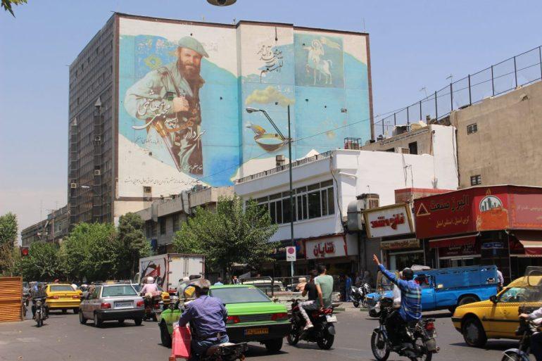 Tehran Iran street art