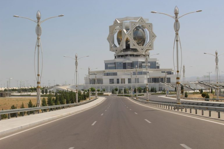 Wedding Tower Turkmenistan wereldreis