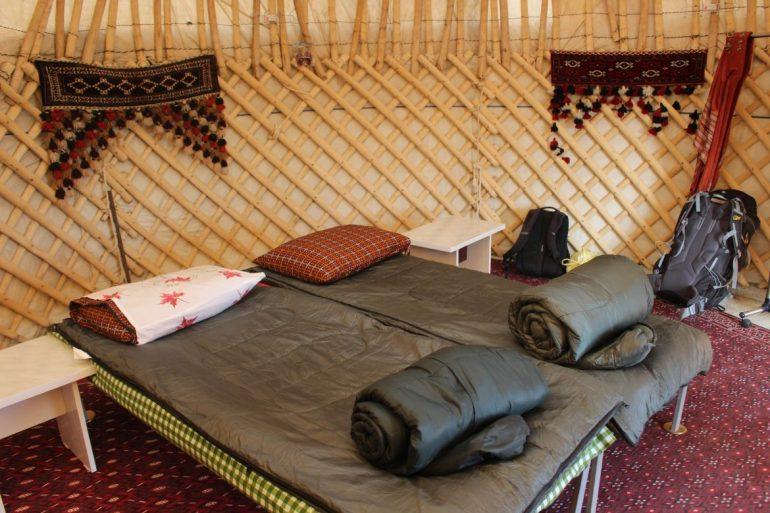 Yurt life Turkmenistan wereldreis