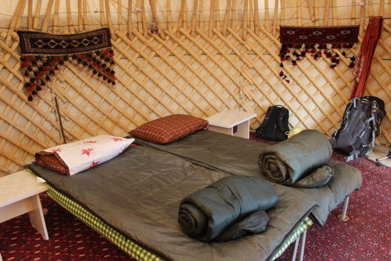 Yurt life Turkmenistan