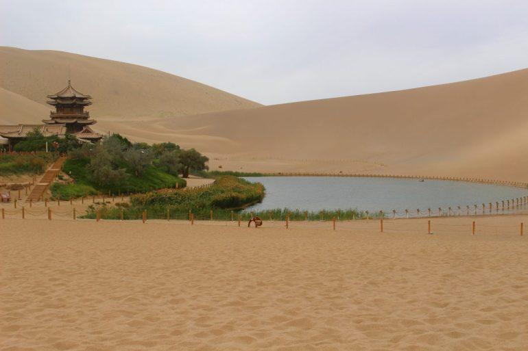 Dunhuang oase China wereldreis