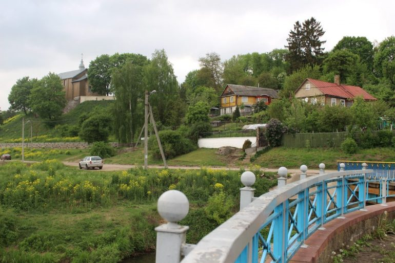 Grodno river side view