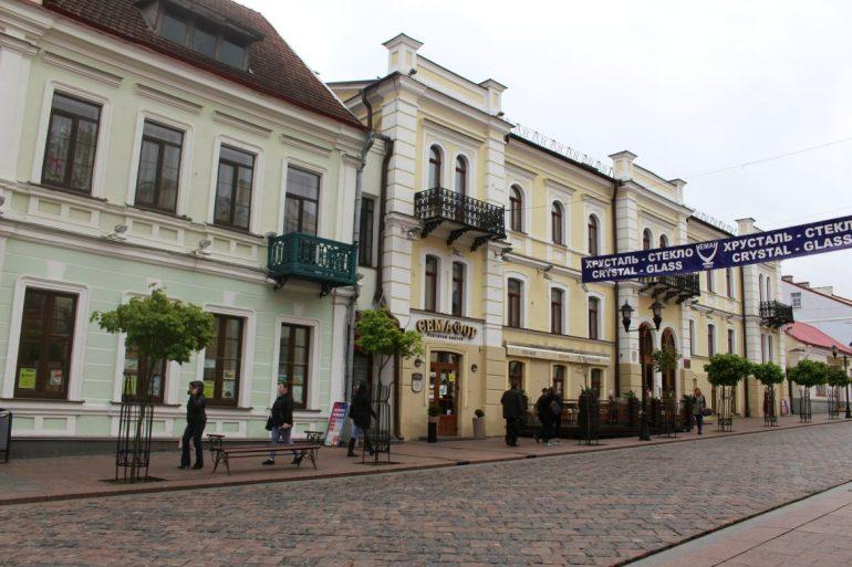 sovetskaya street Grodno