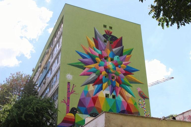 Bucharest street art