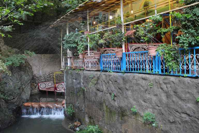Tehran things to do darband hill