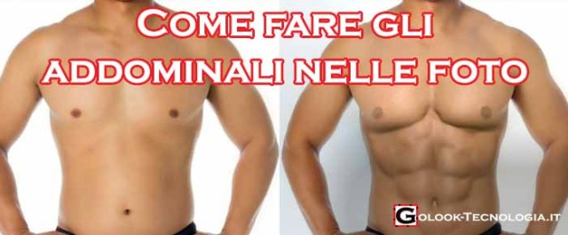 come fare addominali foto
