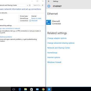 windows 10 ethernet non dispone di una configurazione ip valida