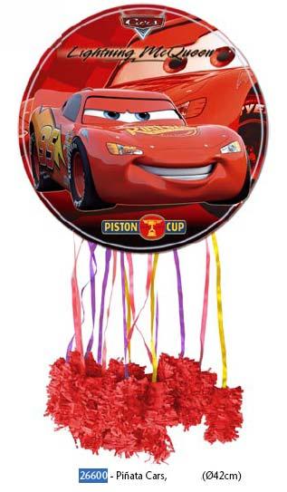 PIÑATA CARS DIAMETRO: 43 CMS.
