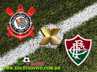 Assistir Corinthians x Fluminense ao vivo 16h00 Campeonato Brasileiro Série A