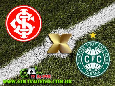 Assistir Internacional x Coritiba ao vivo 16h00 Campeonato Brasileiro Série A