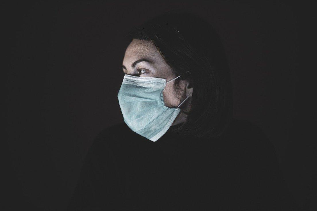 coronavírus, mascarar, vírus