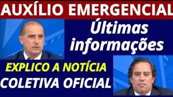 AUXÍLIO EMERGENCIAL ÚLTIMAS NOTÍCIAS: PRONUNCIAMENTO OFICIAL DA CEF E MINISTÉRIO DA CIDADANIA
