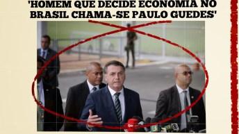 'Homem que decide economia no Brasil é um só: chama-se Paulo Guedes', diz Bolsonaro